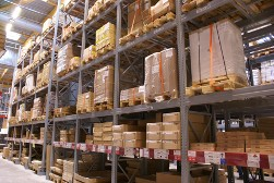 Pallets in a Warehouse, Wood Pallets in Joliet, IL